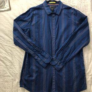 Men's INC XL long sleeve button up